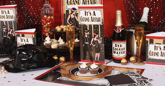 Book themed party ideas for literature lovers bibliocrunch for 20s party decoration ideas