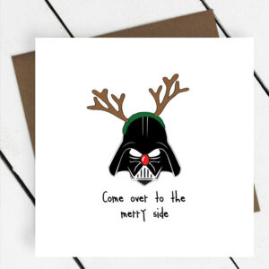 original_star-wars-come-over-to-the-merry-side-christmas-card