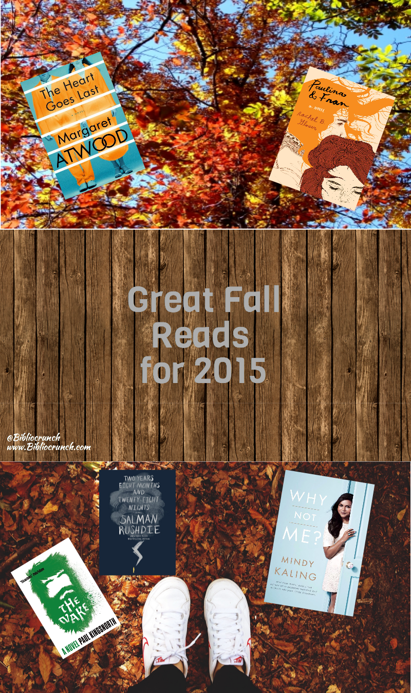 Great Fall Reads for 2015-2