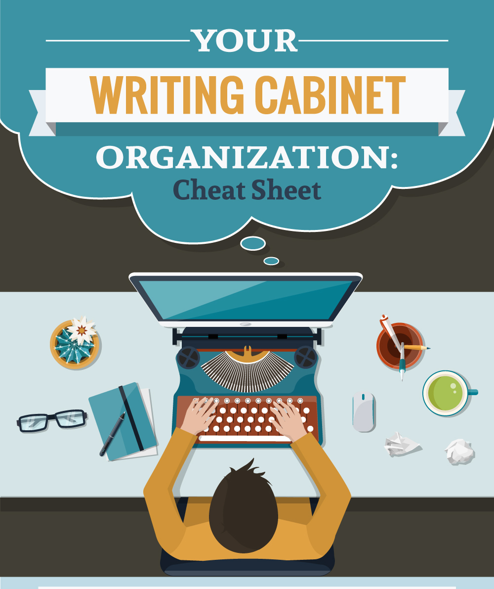 your writing cabinet organization