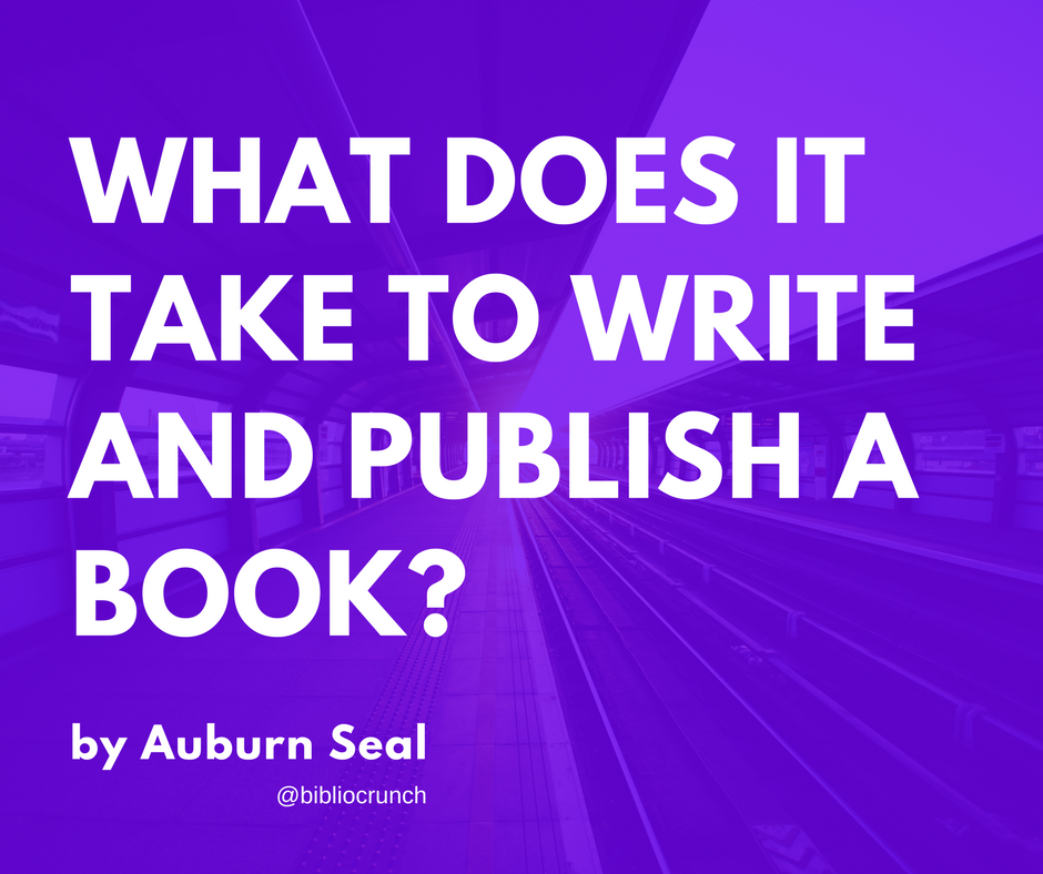 What does it take to write and publish a book?