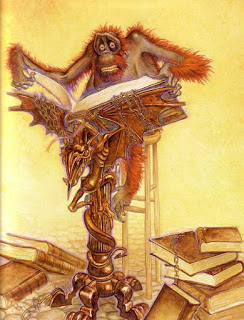 Ook Discworld Librarian by Paul Kidby 010819